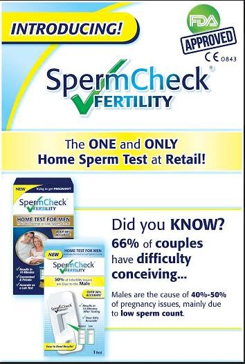 Sperm Check Test Kit